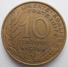 Francia 10 céntimos 1975