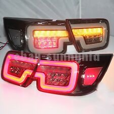 For Chevrolet Malibu LED Strip Tail Lights Rear Lamp 2012-2014 Year smoke black