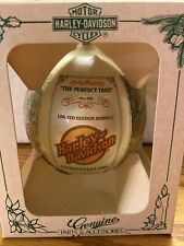 "Harley-Davidson 1985 Christmas Ball Ornament ""The Perfect Tree"", Series C Ltd Ed"