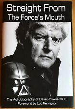 "DAVE PROWSE Autograph Book ""Straight from the Force's Mouth"" In-Person w/ photos"