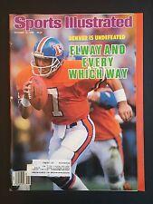 Sports Illustrated Magazine October 13, 1986 Issue Denver Broncos John Elway