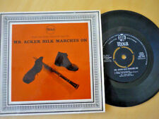 MR. ACKER BILK MARCHES ON - 1958 PYE NIXA EP = PICTURE SLEEVE - EXCELLENT VINYL