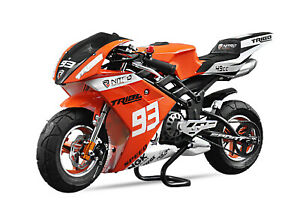 Nitro Motors Tribo 49cc Pocketbike Minibike Racing