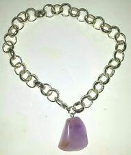 Chain Amethyst Stone Fashion Bracelets