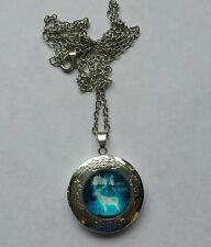 Friendship necklace locket patronus charm Magical/symbol. Dumbledore/Hermione