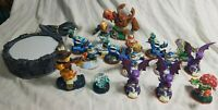 Skylanders Lot of 16 Activision Action Figures & Portal of Power For Xbox 360