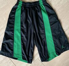 Mens And1 Shorts Size Small (28x12) Basketball Black  With Green Pockets EUC