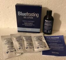 Proclere Blue Frosting Gel Lotion 1 x 50ml & 4 x Blue Frosting Sachets 13g.