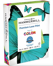 NEW 3 Pack Hammermill Laser Color Office Paper, 98 Brightness 24lb 500 Sheets x3