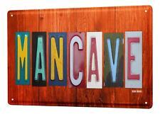 Blechschild Nostalgie Mancave