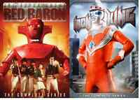 Super Robot Red Baron Iron King 2pack 7-DVD SET NEW GIANT ROBOT VS MONSTERS!