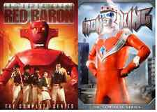 Super Robot Red Baron Iron King 2pack 7-DVD SET NEW GIANT ROBOT VS MONSTERS!