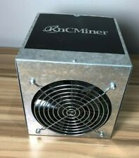 KNCMINER TITAN CUBE Bitcoin Miner Tested For Power Please Read Full Description