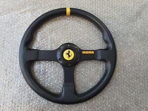 Momo CAVALINO Steering Wheel Porsche 911 914 930 918 Ferrari super rare .