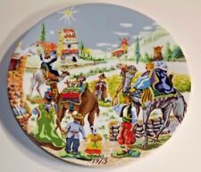 Royal Limoges The Nativity Christmas Plate The Three Wise Men #2234 _1973