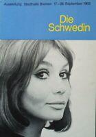 Die Schwedin Ausstellung Stadthalle Bremen September 1965 B17878