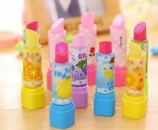 Top Sale Play School Students Pen Shape Eraser Rubber Stationery Kid Gift Toy SJ