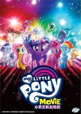 DVD Anime My Little Pony The Movie Complete Film English Version (Region 0)