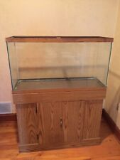 Fish Tank With Wood Stand 30 Gallons Local Pick Up