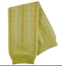 New Yellow Plaid BabyLeg Warmers Baby Toddler $12 Super Cute!
