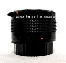 VIVITAR SERIES 1 2x Matched Multiplier Tele Converter for 200mm 3.5 lens NIKON