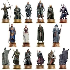 Lord of the Rings Chess Collection Eaglemoss Various Figures Pieces BN IN BOXES