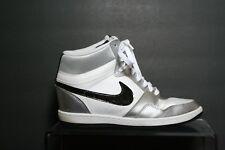 Nike Force Sky High Wedge Heel '13 Women 11 Multi White Black Silver Athletic
