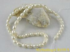 10 strands White rice pearl beads W1805