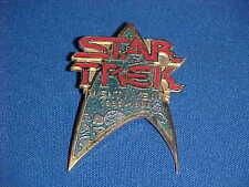 STAR TREK TWENTY YEAR 1966-1986 PROMO ENAMEL INSIGNIA COMMUNICATOR PIN