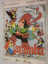 CARAMBA Jacovitti ANAF Lisca di pesce 1973 fumetto libro romanzo narrativa di