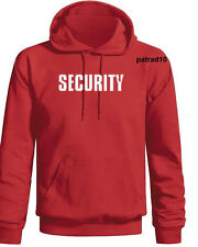 SECURITY Sweatshirt Hoodie - Two Sides SIZES S-3XL