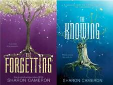THE FORGETTING & THE KNOWING Young Adult Series by Sharon Cameron HARDCOVERS 1-2