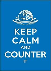 Max Protection 50 MTG Standard Card Sleeves Keep Calm & Counter It