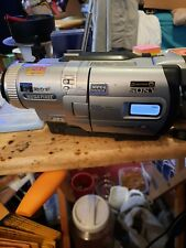 Sony Handycam Dcr-Trv730 Digital 8 Camcorder W/Charger Power on but not texted?