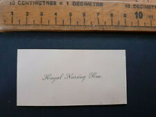More details for british india raj calling card business kagal narsing rao