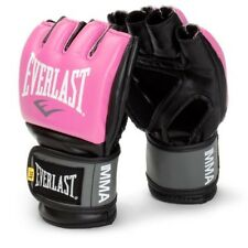 LOW PRICE! NEW Everlast MMA Pro Style Training Gloves Advanced Expert Pink L/XL