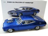 1:18 Ford Falcon XA 351 with Supercharger Coupe Candy Blue AutoArt yuk00
