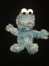 "Fisher-Price 2007 Sesame Street TALKING COOKIE MONSTER 9"" Plush STUFFED ANIMAL"