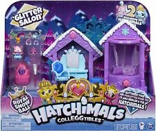 Hatchimals CollEGGtibles GLITTER SALON Playset with 2 Exclusive Hatchimals