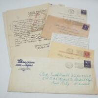Vintage Lot of 6 Pittsburgh Pennsylvania Correspondence Letter 1950's jds