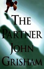"THE PARTNER John Grisham ""SIGNED""1997 Hardcover IT STARTED WHEN THEY FOUND HIM"