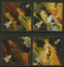 Niue  1989   Scott #   573-576     Mint Never Hinged Set