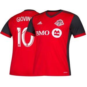 Sebastian Giovinco Toronto FC MLS Adidas Men's Red Climalite Team Replica Jersey