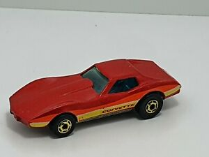 Vintage Hot Wheels Corvette Stingray 1975 1:64 Malaysia #9241