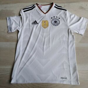 Germany Team Jersey Home football shirt 2016-2017 Adidas B47863Young Size L UA1
