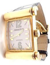 Rare! Authentic Audemars Piguet Canape 18k Yellow Gold Automatic Mens Watch