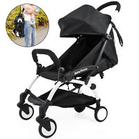 Mini Folding Baby Stroller 2 in 1 Lightweight 15KG Baby Travel System Pushchair