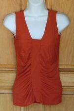 Nine West Ladies Size PP Orange Dressy Pullover