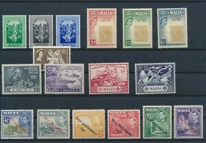 LN27305 Malta mixed thematics nice lot of good stamps MNH