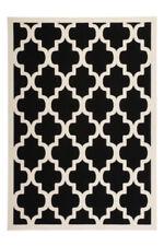 Tapis noir pour la maison, 160 cm x 230 cm